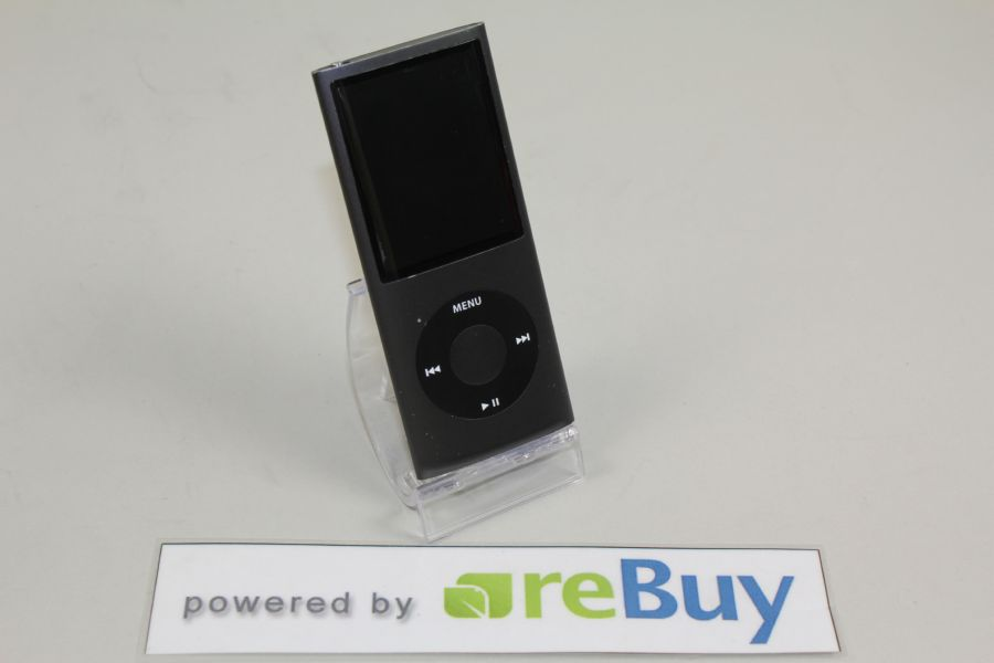 Apple-iPod-nano-4G-8-GB-schwarz-DEFEKT-MP3-Player-37