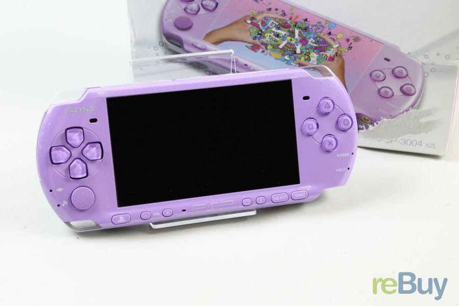 sony psp 3004 lilac purple handheld konsole 40 in ovp ebay. Black Bedroom Furniture Sets. Home Design Ideas
